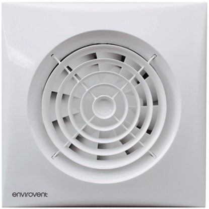 Picture of Silent 100 Adjustable Humidity Sensor Extractor Fan - Ultra Quiet WC & Bathroom Fans