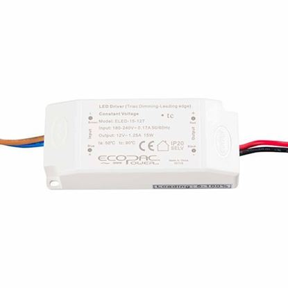 Picture of 15W 24V Triac Dimmable LED Driver