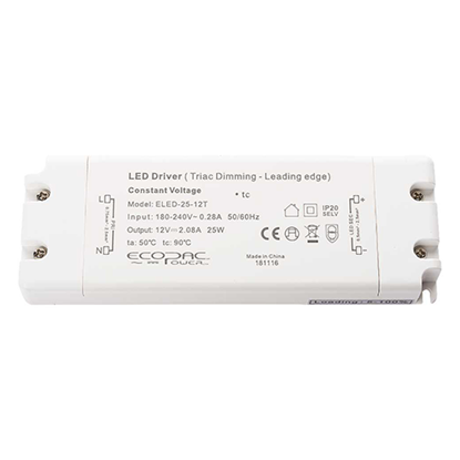Picture of 25W 12V Triac Dimmable LED Driver
