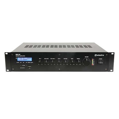 Picture of RM Series RM120 5-Channel 100V Mixer Amplifier