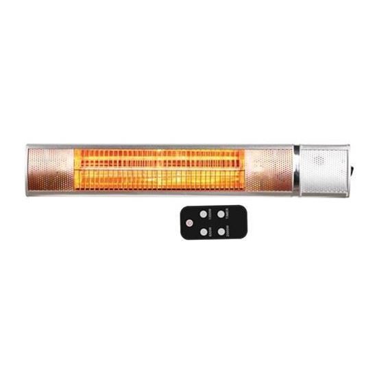Picture of Airmaster 2KW Infrared Golden Electric Heater with Remote Control - IP65